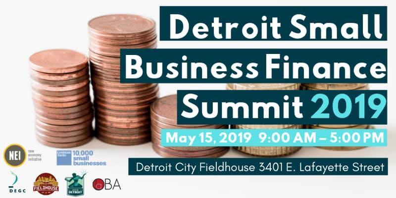Detroit small business finance