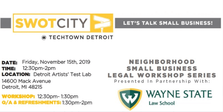 small business legal workshop